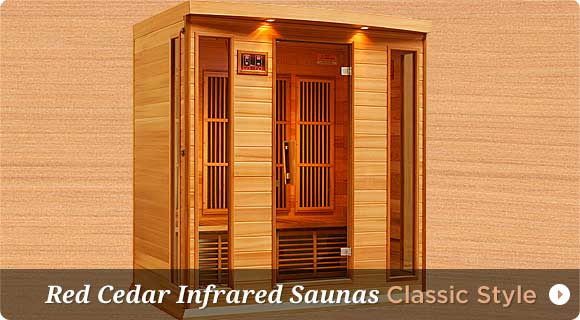 Infrared Saunas, Canadian Red Cedar