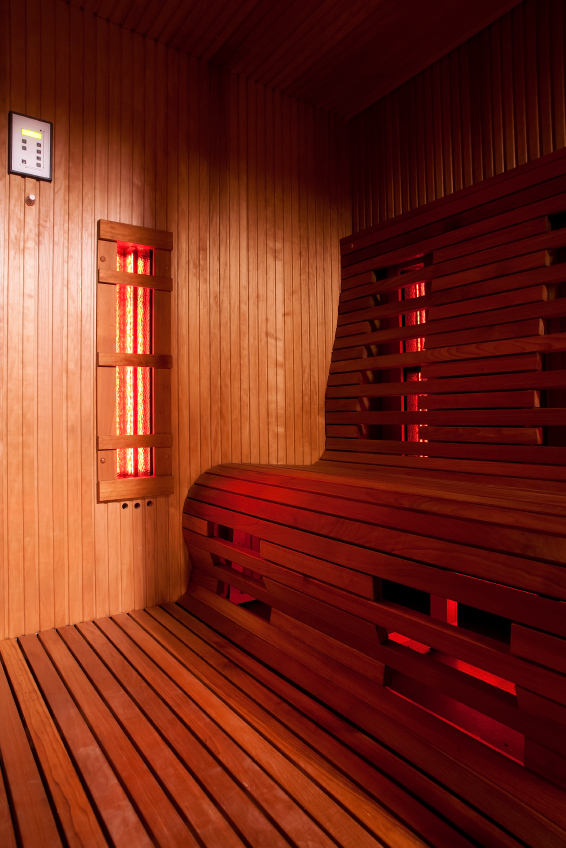 Infrared sauna cabin